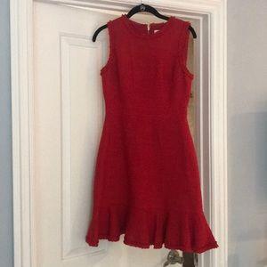 Red Kate Spade mini dress